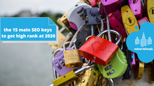 the 15 main SEO keys to get high rank at 2020