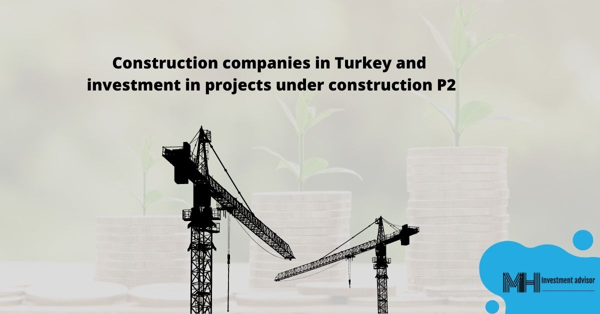Construction companies in Turkey and investment in projects under construction, p2