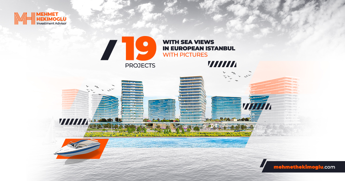 project with sea view at European side of isntabul